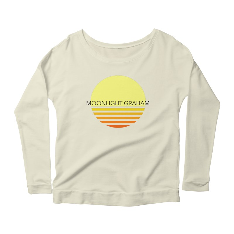 Before The Sun Black Text Women's Scoop Neck Longsleeve T-Shirt by moonlightgraham's Artist Shop