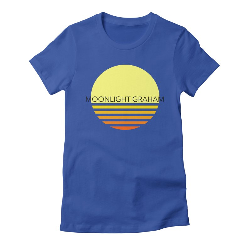 Before The Sun Black Text Women's Fitted T-Shirt by moonlightgraham's Artist Shop