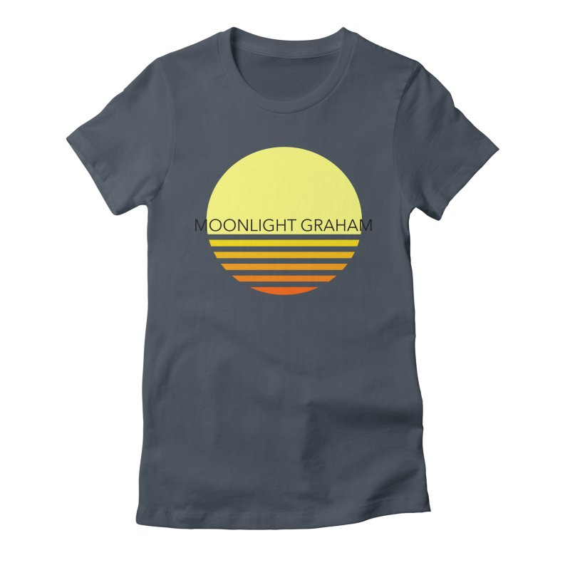 Before The Sun Black Text Women's T-Shirt by moonlightgraham's Artist Shop