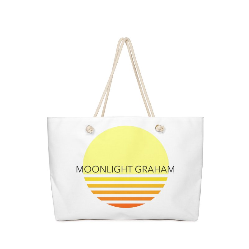 Before The Sun Black Text Accessories Bag by moonlightgraham's Artist Shop