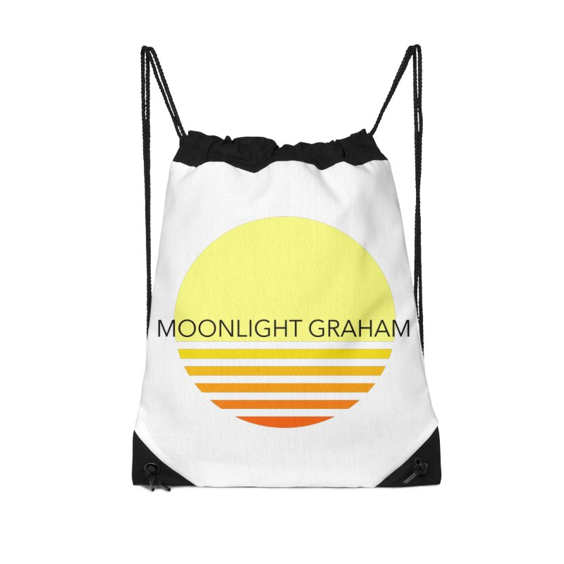 Before The Sun Black Text Accessories Drawstring Bag Bag by moonlightgraham's Artist Shop