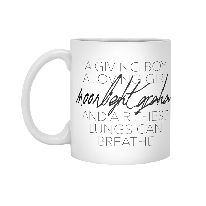 Before The Sun Lyrics Accessories Standard Mug by moonlightgraham's Artist Shop