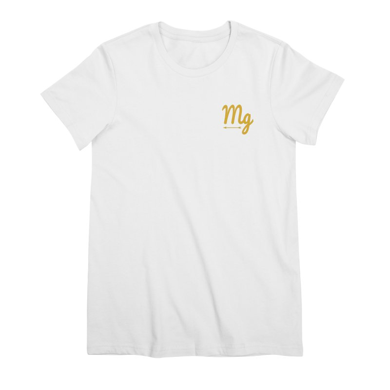 Arrow Women's Premium T-Shirt by moonlightgraham's Artist Shop