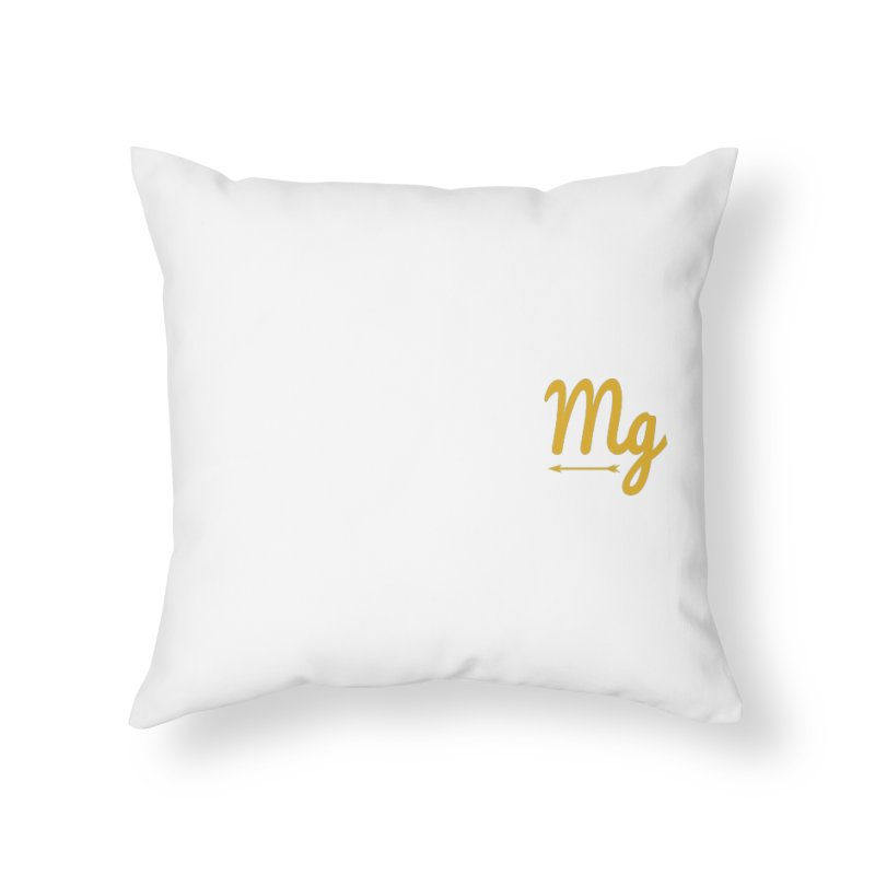 Arrow Home Throw Pillow by moonlightgraham's Artist Shop