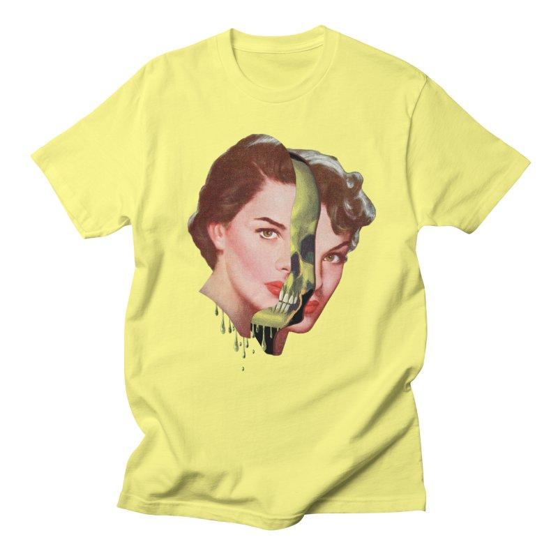 Lady Skull Men's Regular T-Shirt by Moon Patrol