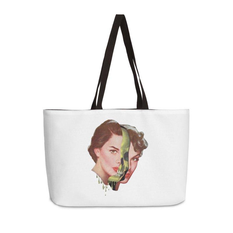 Lady Skull Accessories Weekender Bag Bag by Moon Patrol