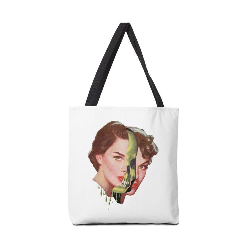 Lady Skull Accessories Tote Bag Bag by Moon Patrol