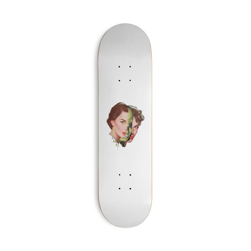 Lady Skull Accessories Deck Only Skateboard by Moon Patrol