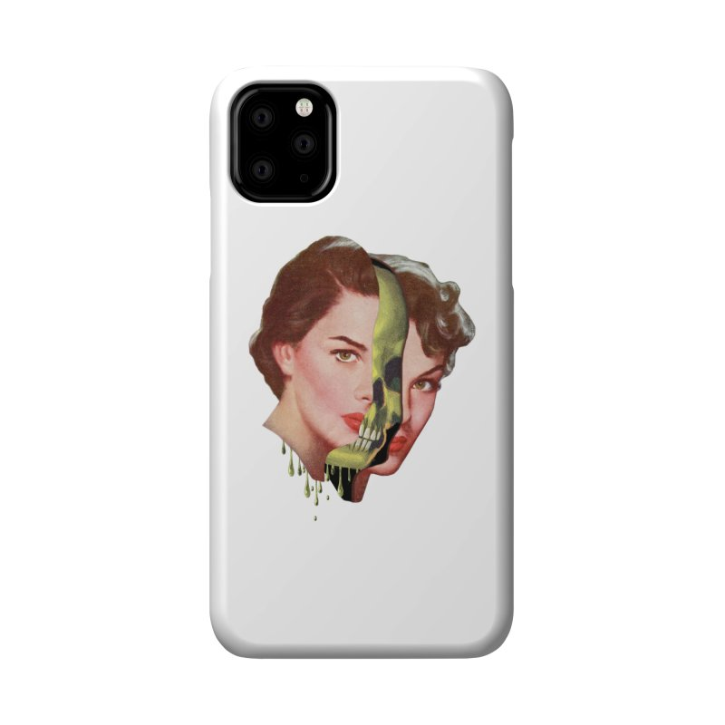 Lady Skull Accessories Phone Case by Moon Patrol