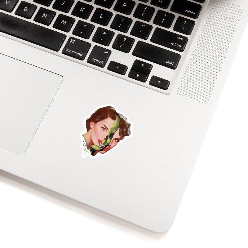 Lady Skull Accessories Sticker by Moon Patrol