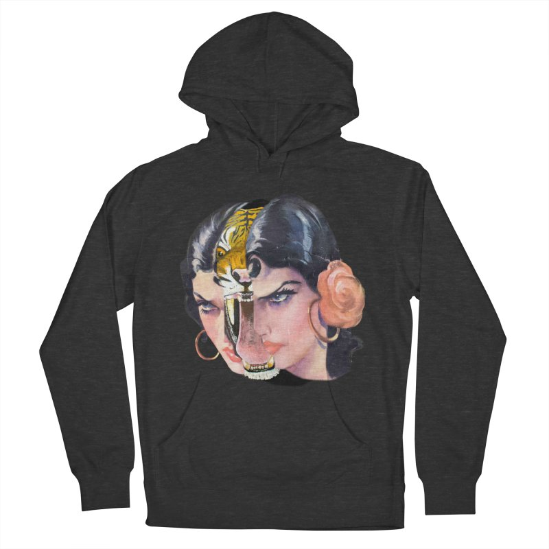 Tigre! Tigre! Women's French Terry Pullover Hoody by Moon Patrol