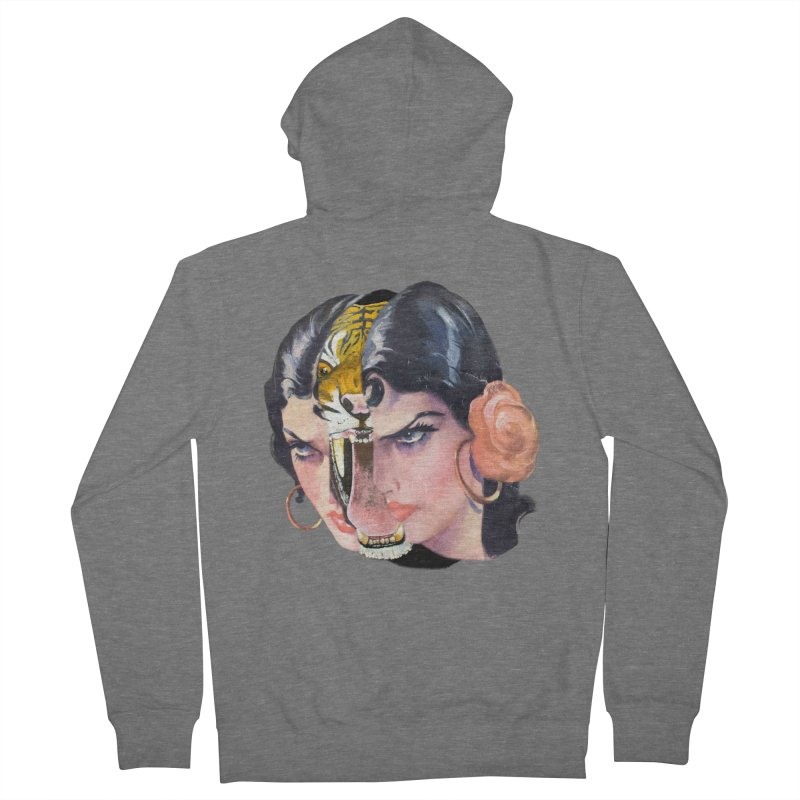 Tigre! Tigre! Men's French Terry Zip-Up Hoody by Moon Patrol