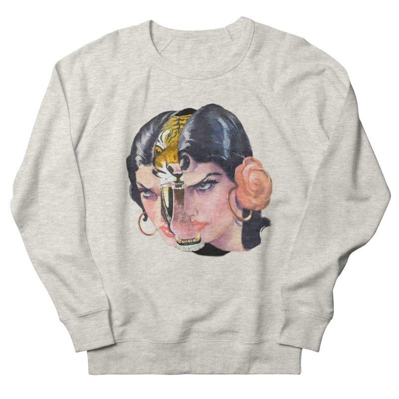 Tigre! Tigre! Women's French Terry Sweatshirt by Moon Patrol