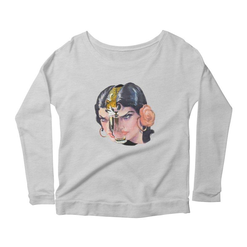 Tigre! Tigre! Women's Scoop Neck Longsleeve T-Shirt by Moon Patrol