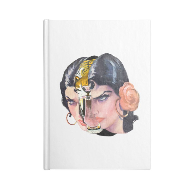 Tigre! Tigre! Accessories Lined Journal Notebook by Moon Patrol