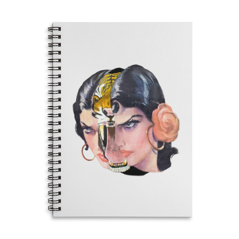 Tigre! Tigre! Accessories Lined Spiral Notebook by Moon Patrol