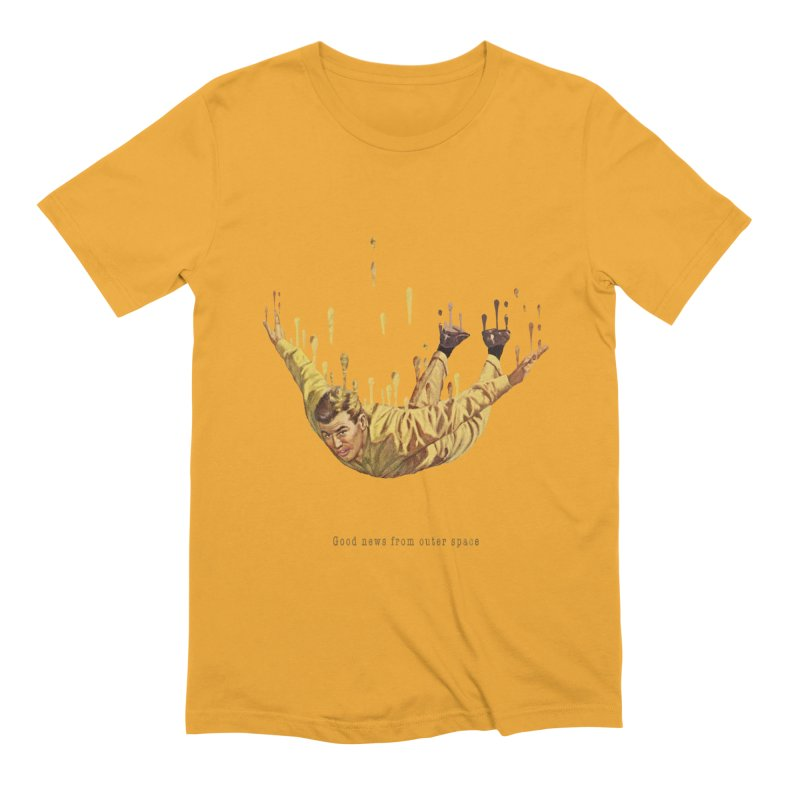 Free Fall Men's Extra Soft T-Shirt by Moon Patrol
