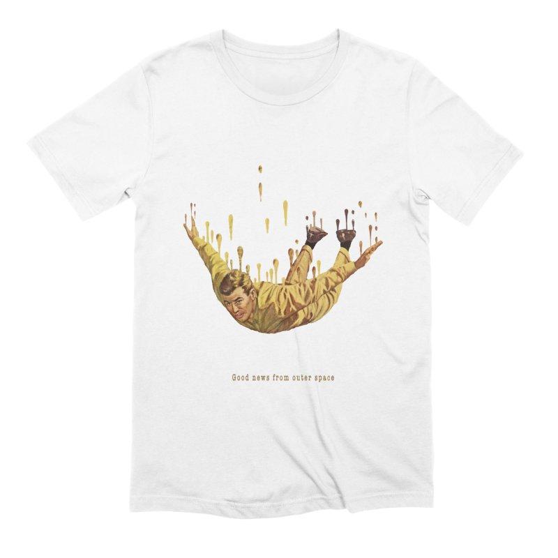 Free Fall Men's Extra Soft T-Shirt by Moon Patrol