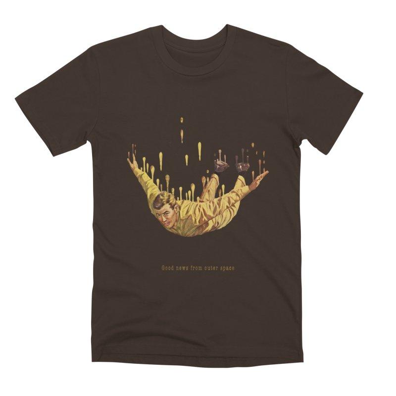 Free Fall Men's Premium T-Shirt by Moon Patrol