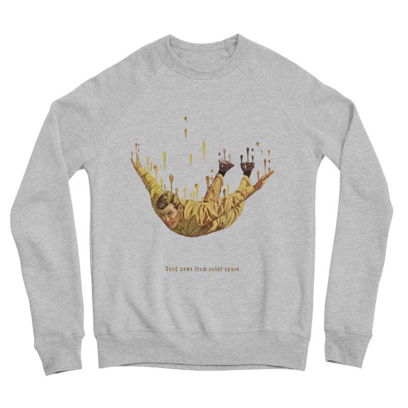 Free Fall Men's Sponge Fleece Sweatshirt by Moon Patrol