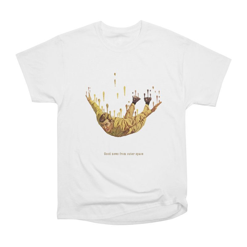 Free Fall Women's Heavyweight Unisex T-Shirt by Moon Patrol