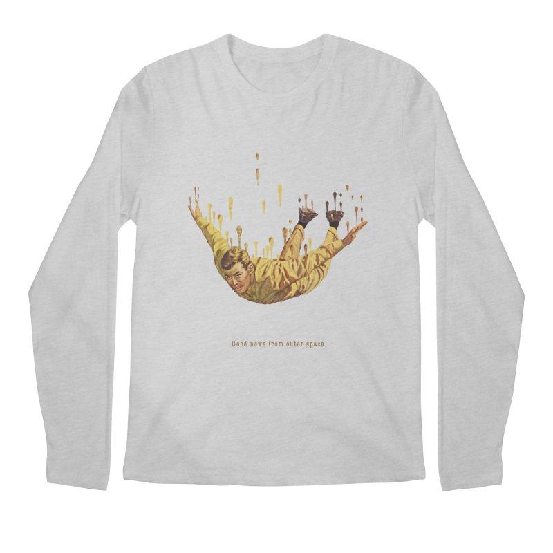 Free Fall Men's Regular Longsleeve T-Shirt by Moon Patrol