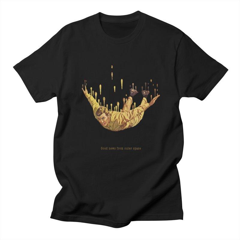 Free Fall Men's Regular T-Shirt by Moon Patrol