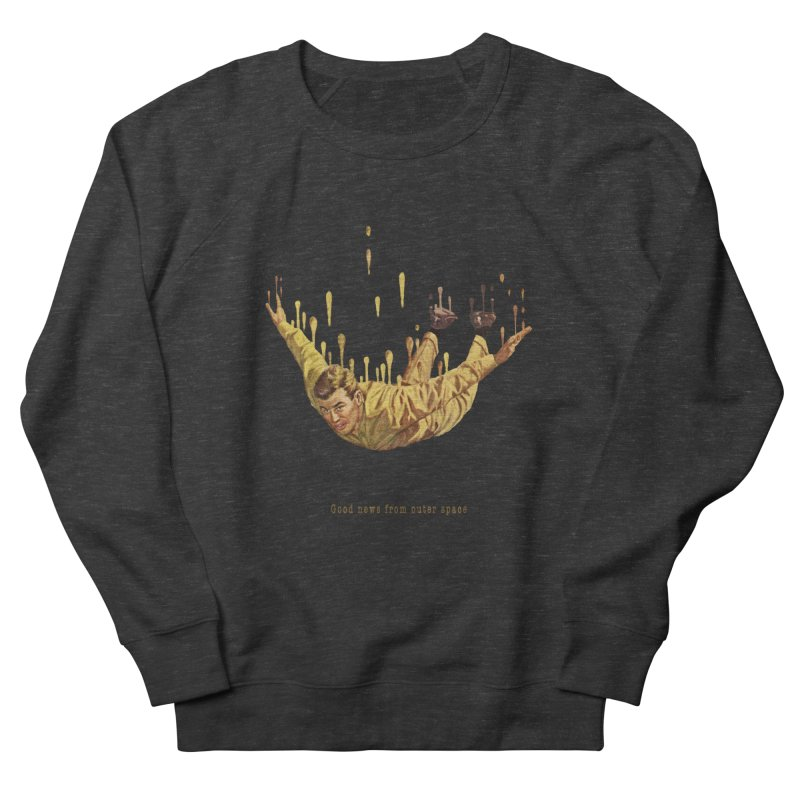 Free Fall Men's French Terry Sweatshirt by Moon Patrol