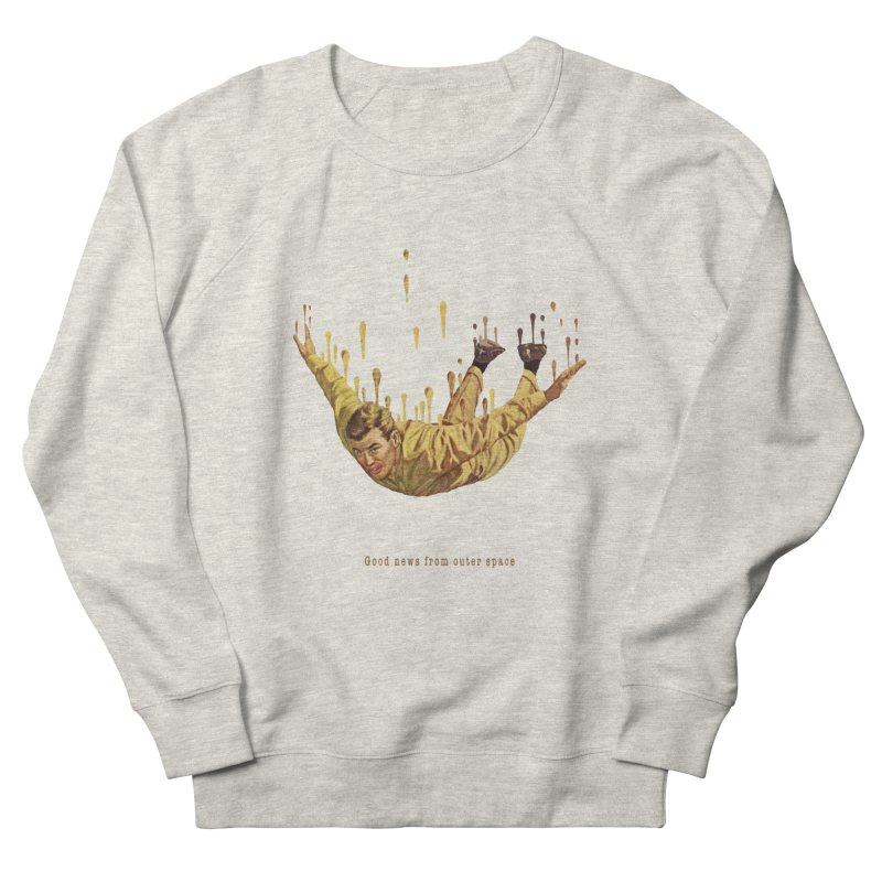 Free Fall Men's French Terry Sweatshirt by Moon Patrol
