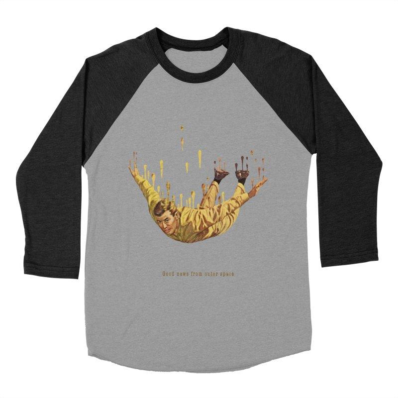Free Fall Women's Baseball Triblend Longsleeve T-Shirt by Moon Patrol