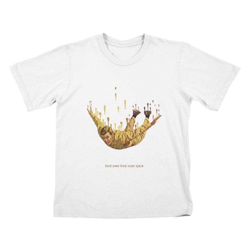 Free Fall Kids T-Shirt by Moon Patrol