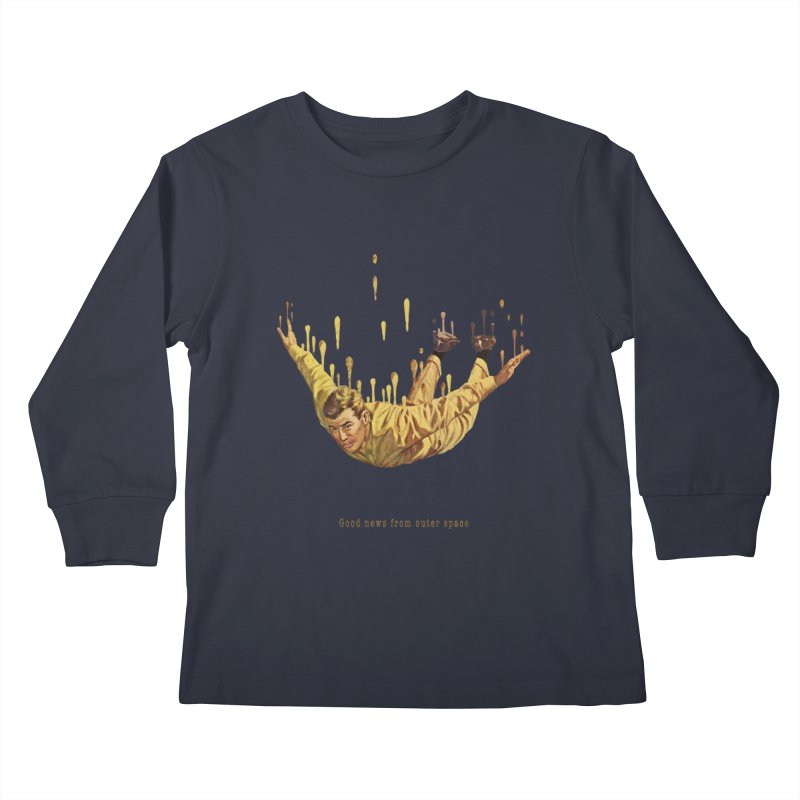Free Fall Kids Longsleeve T-Shirt by Moon Patrol