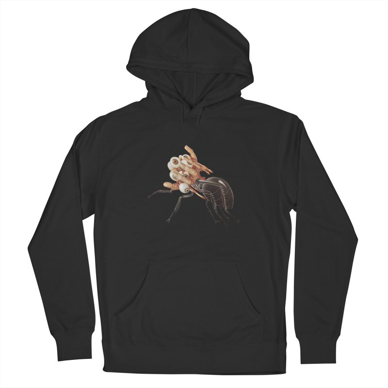 Mutant Ant Women's French Terry Pullover Hoody by Moon Patrol