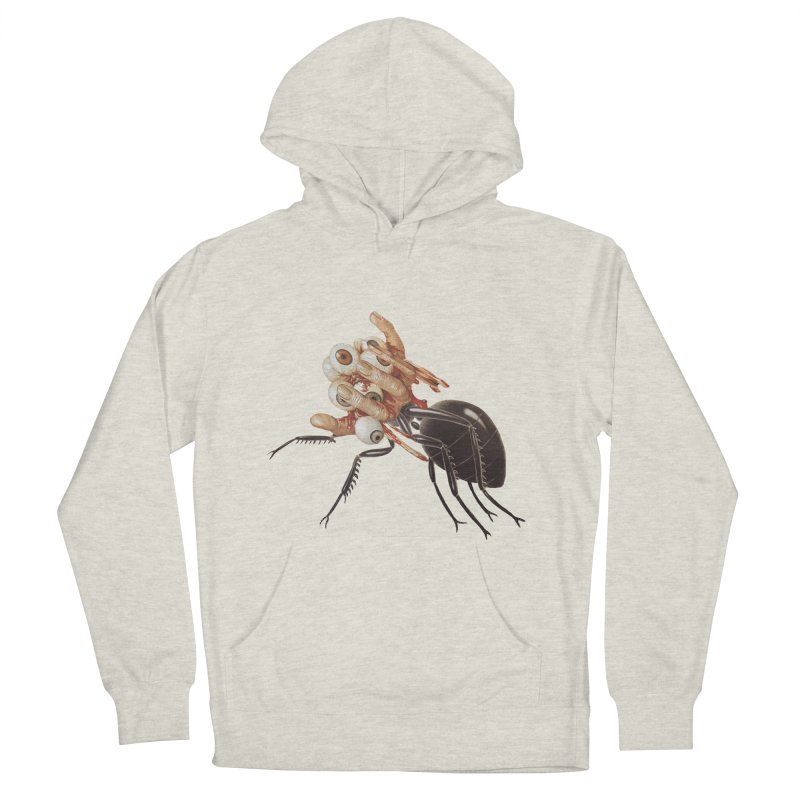 Mutant Ant Men's French Terry Pullover Hoody by Moon Patrol