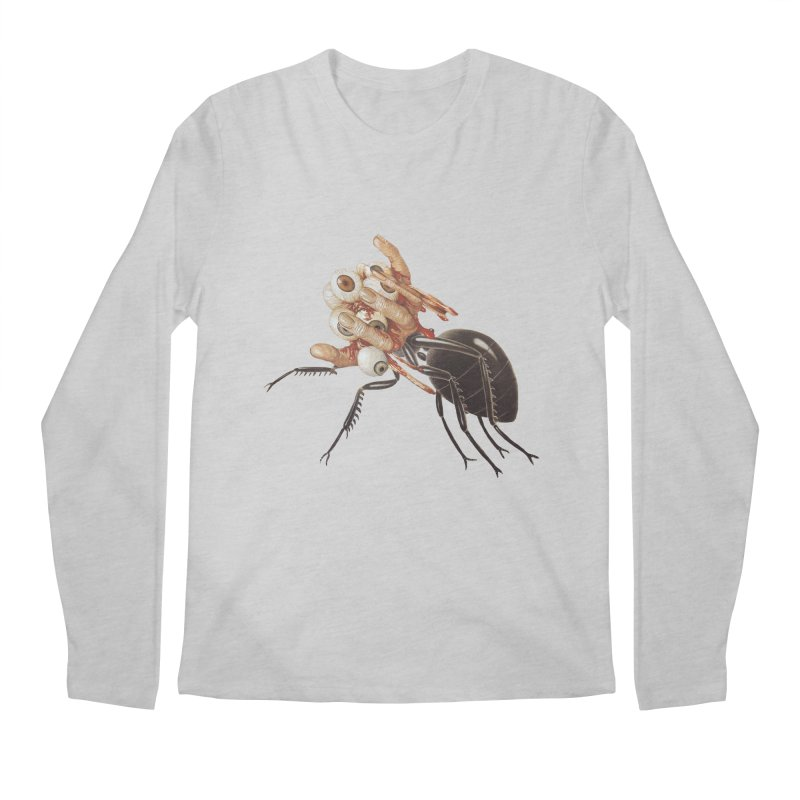 Mutant Ant Men's Regular Longsleeve T-Shirt by Moon Patrol