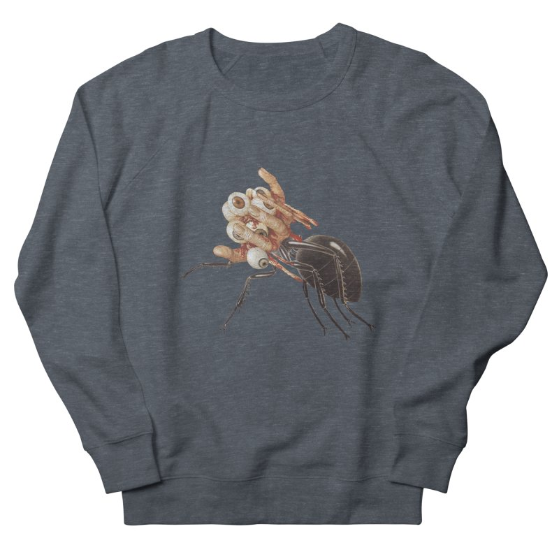 Mutant Ant Men's French Terry Sweatshirt by Moon Patrol