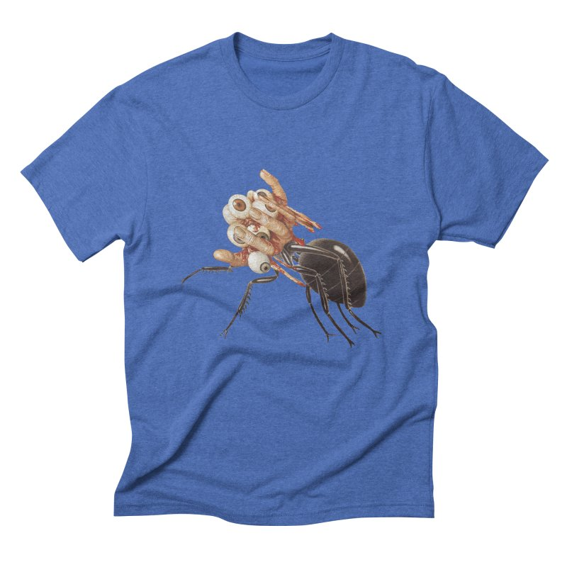 Mutant Ant Men's Triblend T-Shirt by Moon Patrol