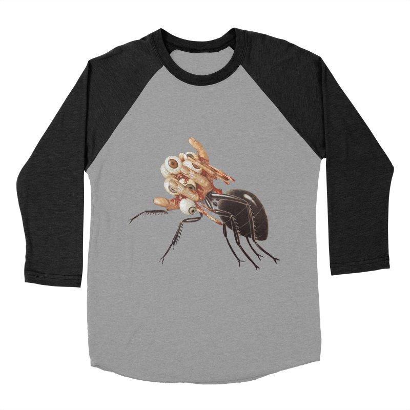 Mutant Ant Women's Baseball Triblend Longsleeve T-Shirt by Moon Patrol