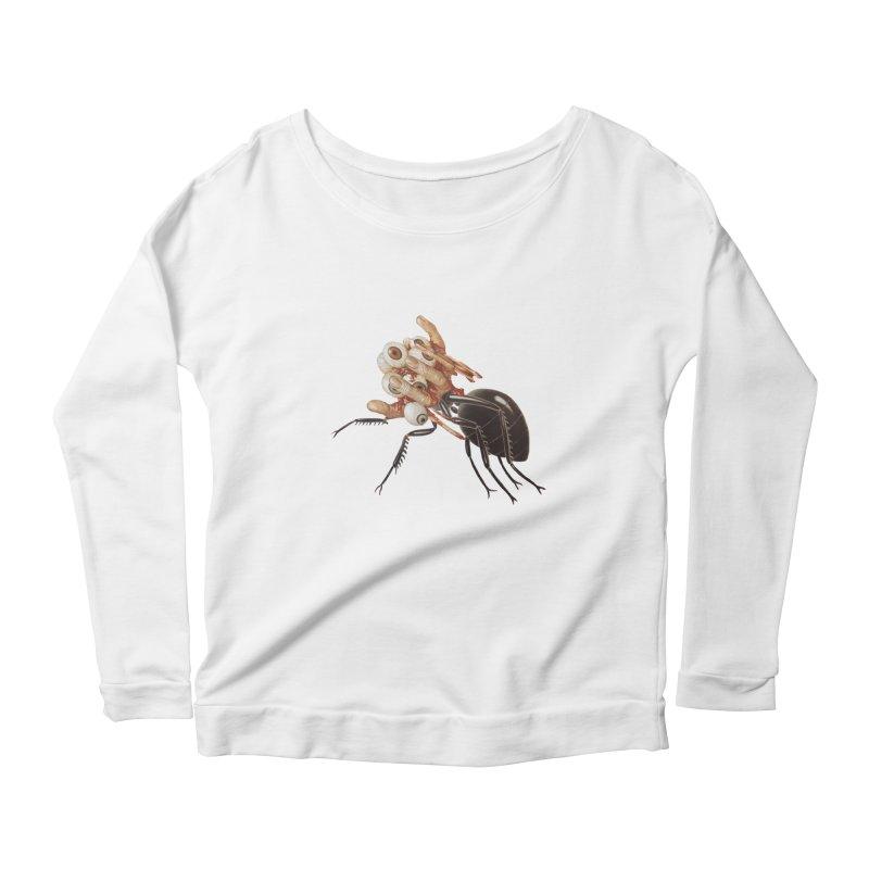 Mutant Ant Women's Scoop Neck Longsleeve T-Shirt by Moon Patrol