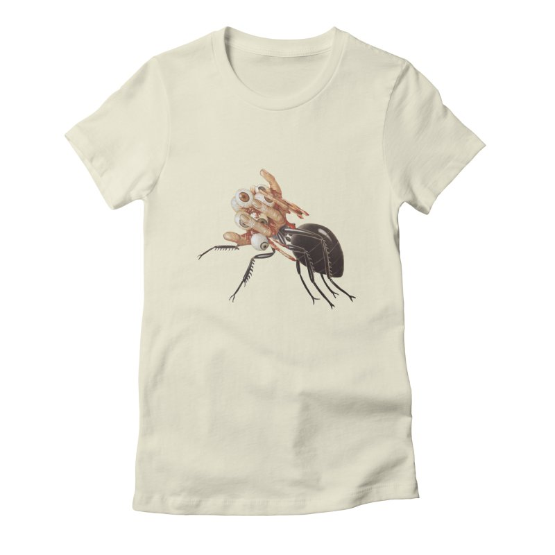 Mutant Ant Women's Fitted T-Shirt by Moon Patrol