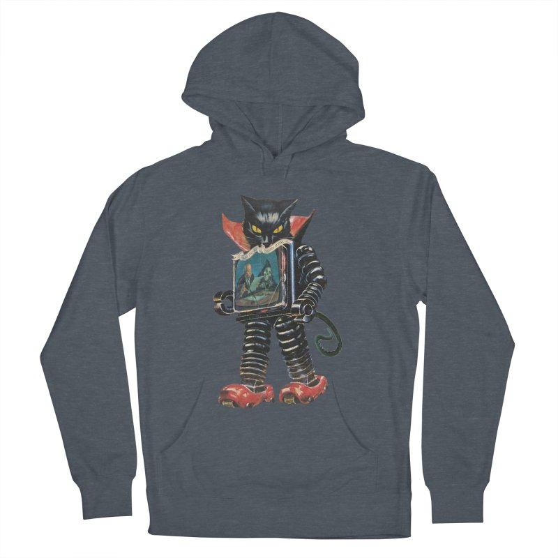 Nightmare Machine Women's French Terry Pullover Hoody by Moon Patrol