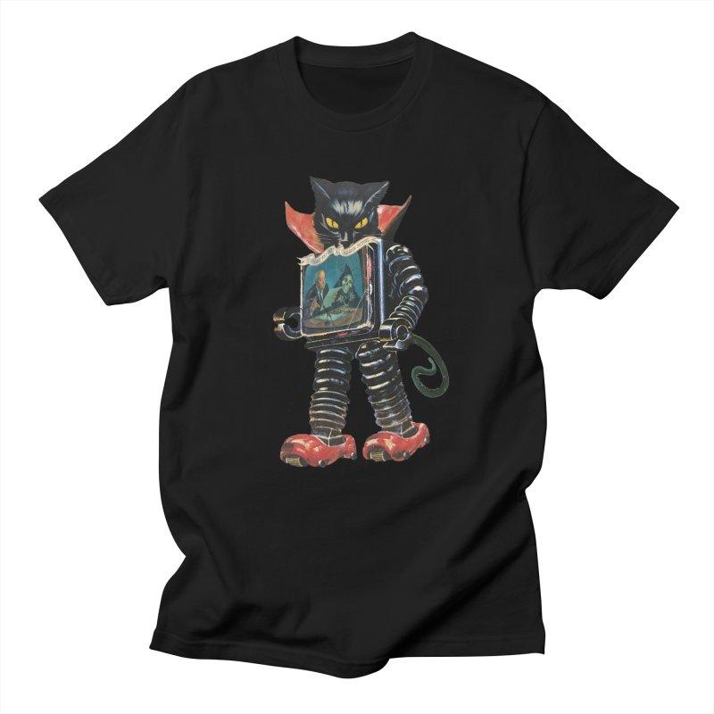 Nightmare Machine Men's Regular T-Shirt by Moon Patrol