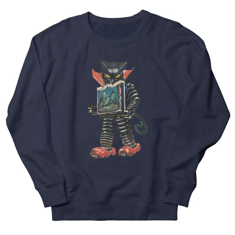 Nightmare Machine Women's French Terry Sweatshirt by Moon Patrol