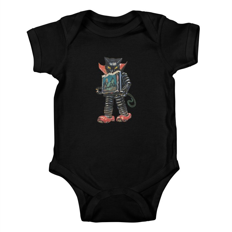 Nightmare Machine Kids Baby Bodysuit by Moon Patrol