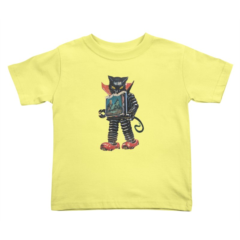 Nightmare Machine Kids Toddler T-Shirt by Moon Patrol