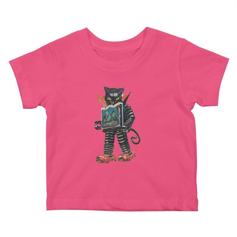 Nightmare Machine Kids Baby T-Shirt by Moon Patrol