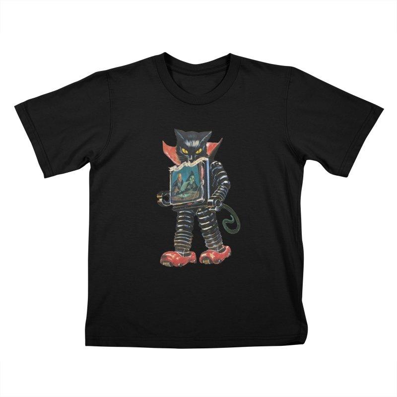 Nightmare Machine Kids T-Shirt by Moon Patrol