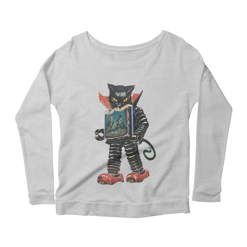 Nightmare Machine Women's Scoop Neck Longsleeve T-Shirt by Moon Patrol