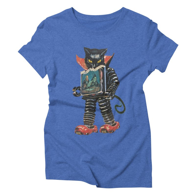 Nightmare Machine Women's Triblend T-Shirt by Moon Patrol