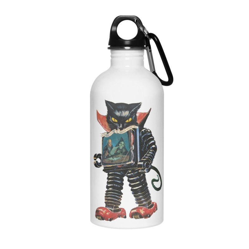 Nightmare Machine Accessories Water Bottle by Moon Patrol